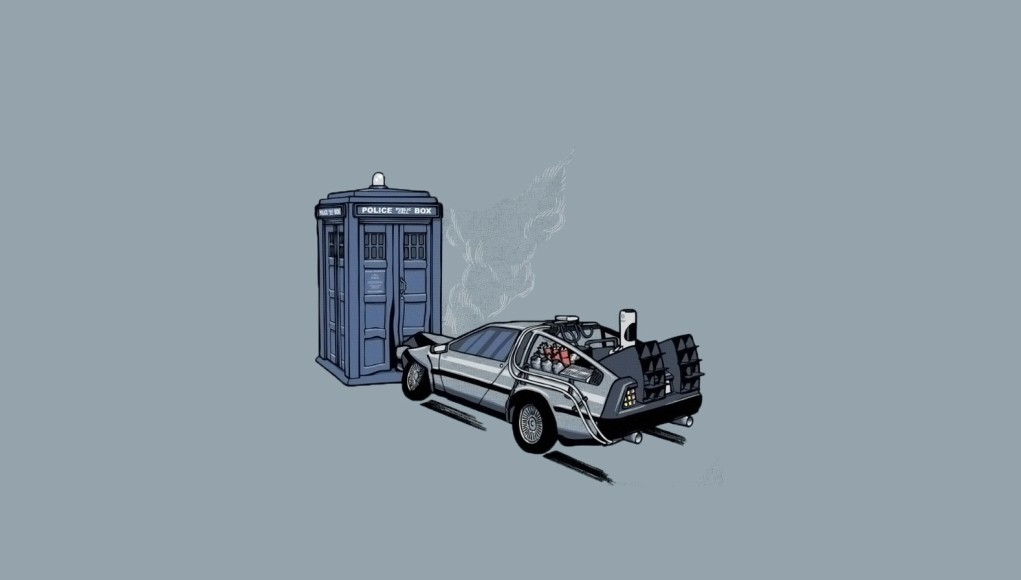 Back to the Future Doctor Who theory