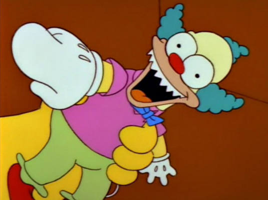 The simpsons the 10 greatest treehouse of horror segments - Clown simpson ...