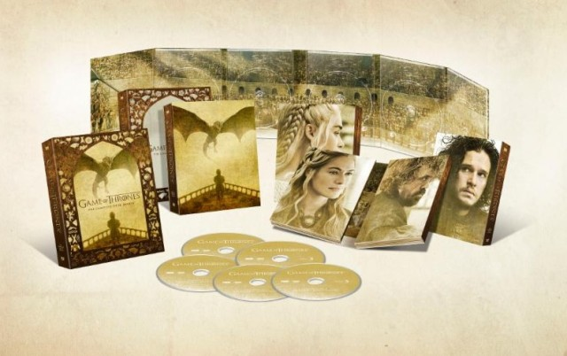 Game of Thrones season 5 box set