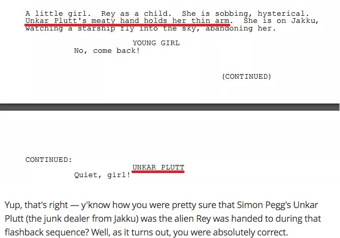 force awakens script