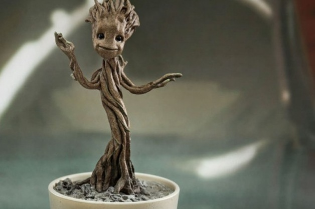 james gunn teases baby groot scene from guardians of the galaxy vol
