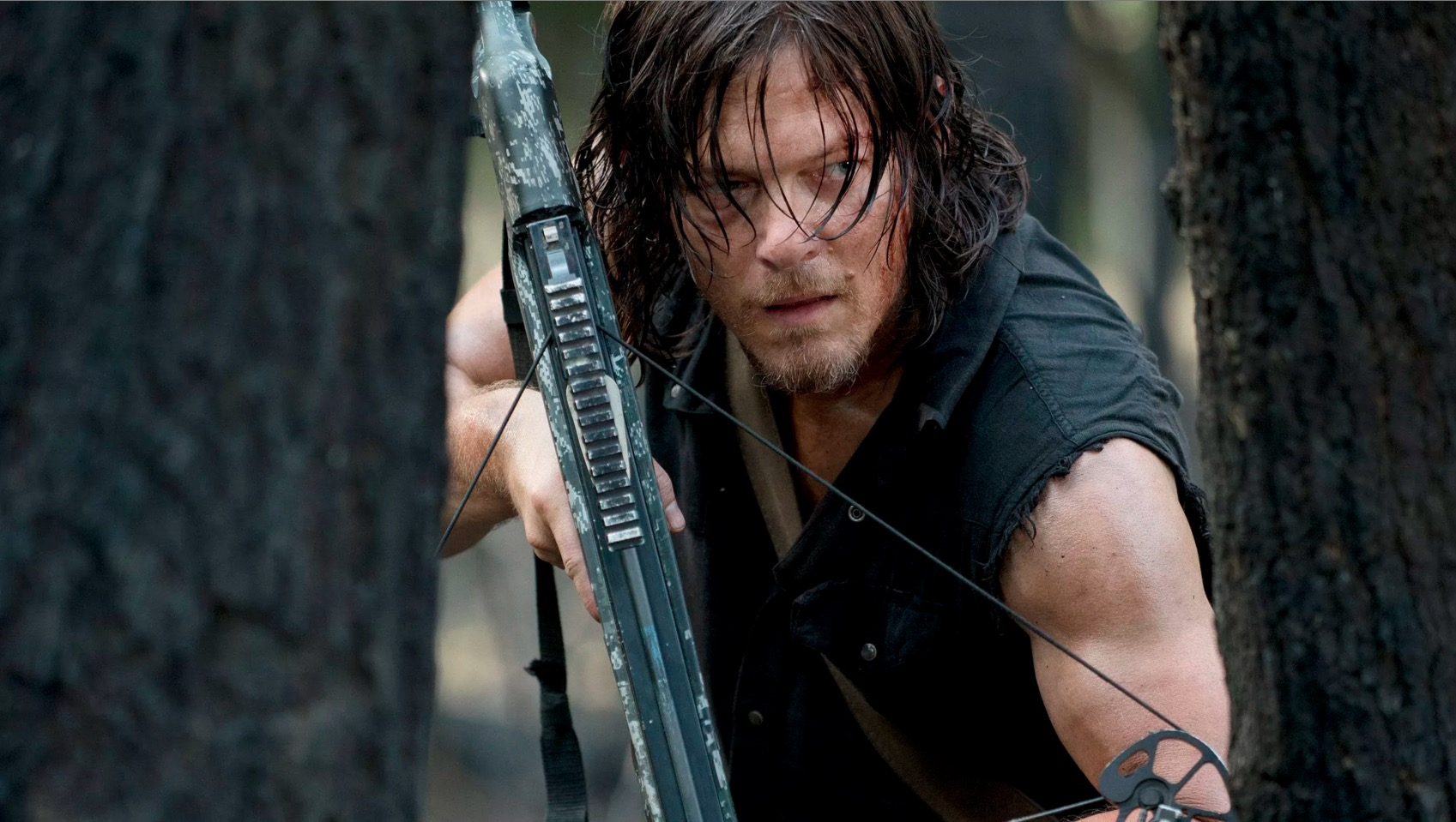 The walking dead wallpaper season 4 daryl