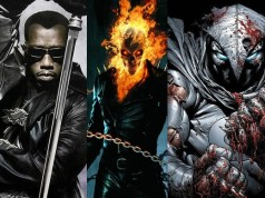 Ghost Rider, Blade and Moon Knight
